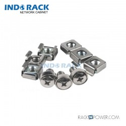 M06, Cage Nut and Screw